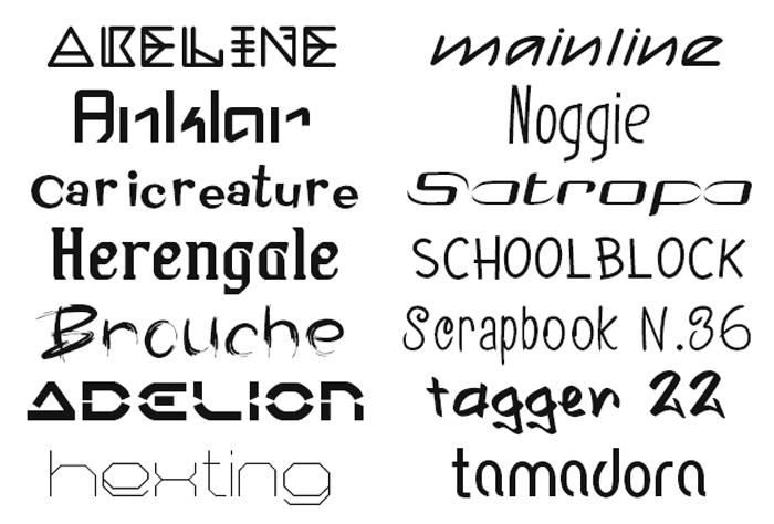 177 Commercial Use Fonts Added to Premium Fonts Collection Image